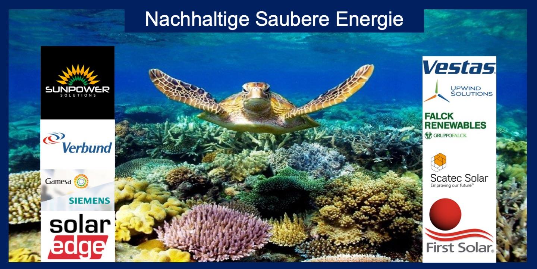ETF Nachhaltige Saubere Energie Fondslogo