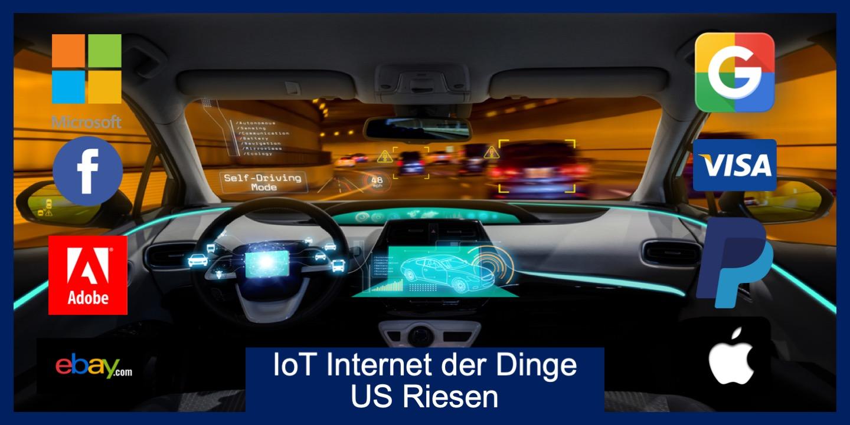 Internet der Dinge IoT US Riesen