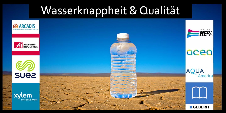 ETF Wasser Knappheit und Qualitat Fondslogo