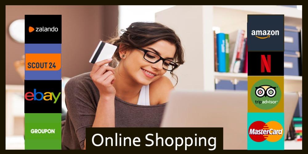 Trend ETF Online Shopping Digitalisering eCommerce Fonds logo