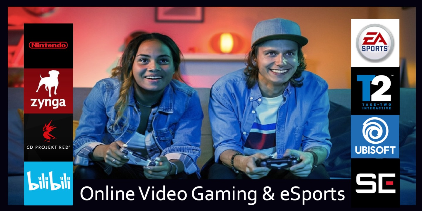 Trend Online Video Gaming eSports