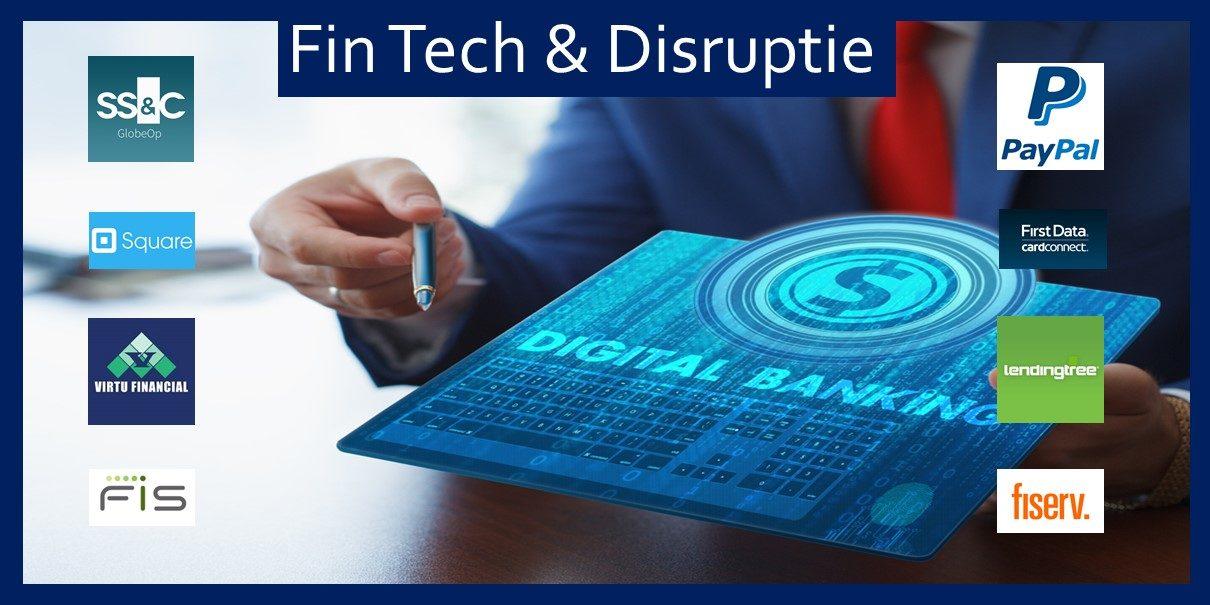 Beleg in FinTech en Disruptie