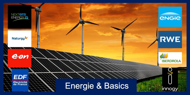 ETF Energie en Basics Fonds Logo