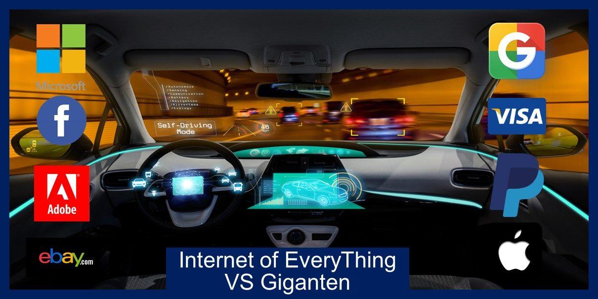 Beleg in de trend IoT Internet of Everything VS Giganten