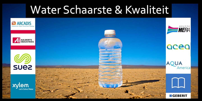 ETF Water Schaarste Kwaliteit
